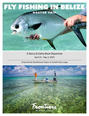 Fly fishing in Belize <br>