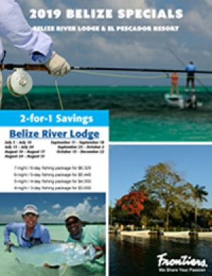 Limited Dates Available for El Pescador Resort and Belize River Lodge