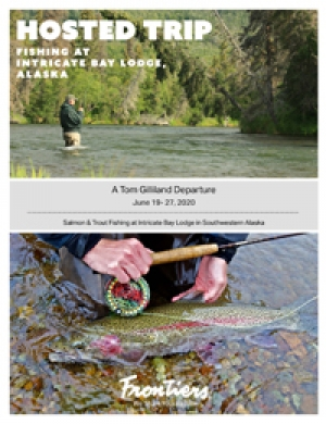 Salmon & Trout Fishing at Intricate Bay Lodge in Southwestern Alaska