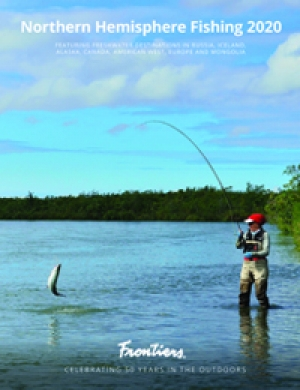Featuring freshwater destinations in Russia, Iceland, United States, Canada and more.