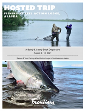 Salmon & Trout Fishing at Reel Action Lodge in Southwestern Alaska