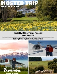 Experience the Best of New Zealand: Hawke's Bay, Christchurch and Queenstown (March 16 - 26, 2017)