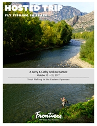 Experience a week of trout fishing in Spain's Eastern Pyrenees (October 13 - 21, 2017)