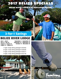 Limited dates available for El Pescador Resort & Belize River Lodge