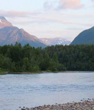 The Malselv, Northern Norway