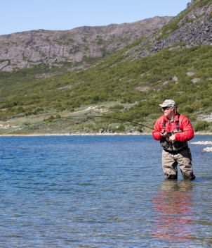 South Greenland Fly Fishing