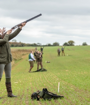 Driven Shooting - Early Season (Sept - Oct)