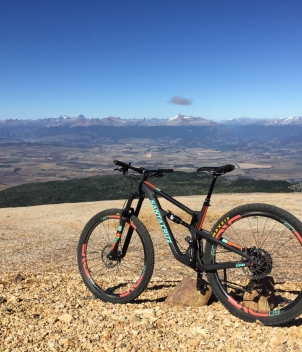 Single track mountain biking and biking guided tours are now offered